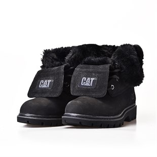 CAT UTAH FUR K BOT/BLACK-NBK/36